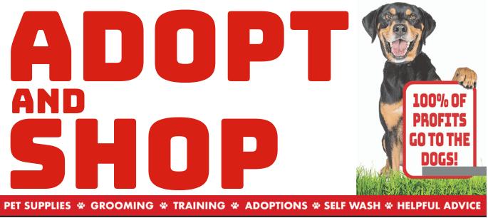 Adopt shop header image